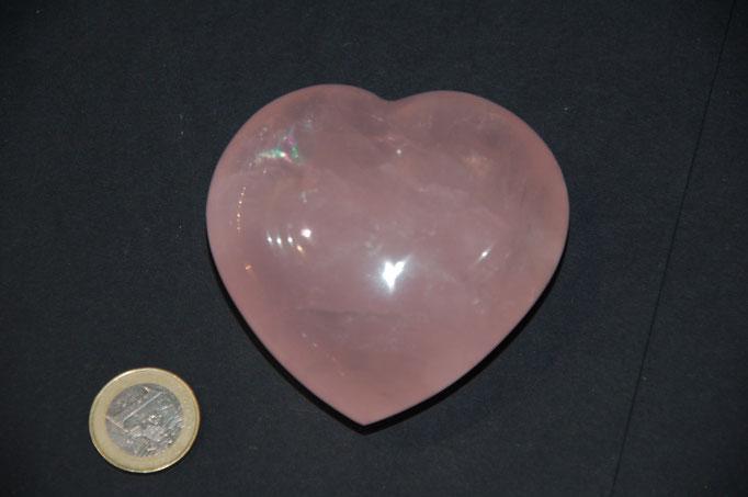 Cœur en Quartz Rose