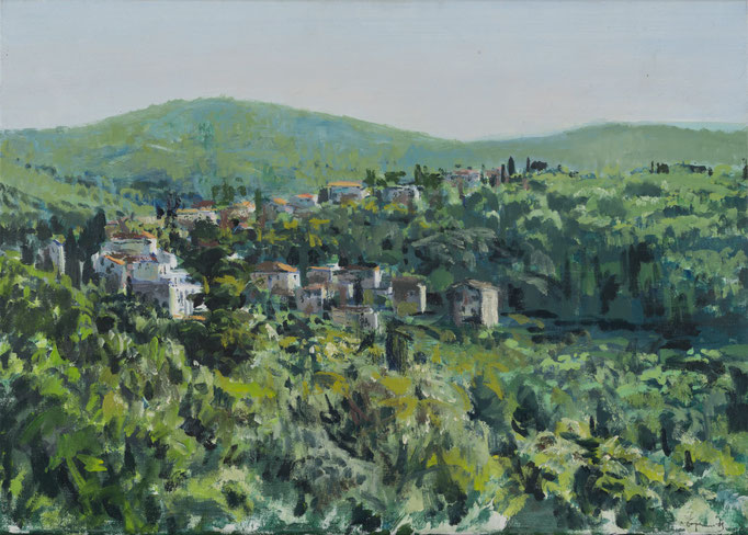 """""""Blato (Insel Korcula, Kroatien)"""", Öl, 70x50cm, 2010"""