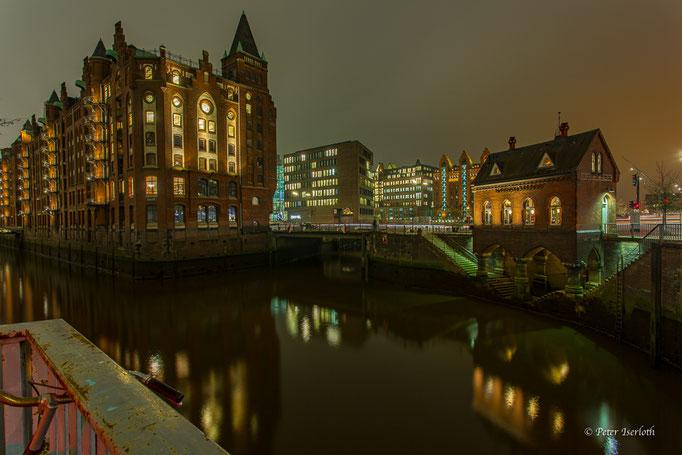Fleetschlösschen, Speicherstadt Hamburg, Deutschland