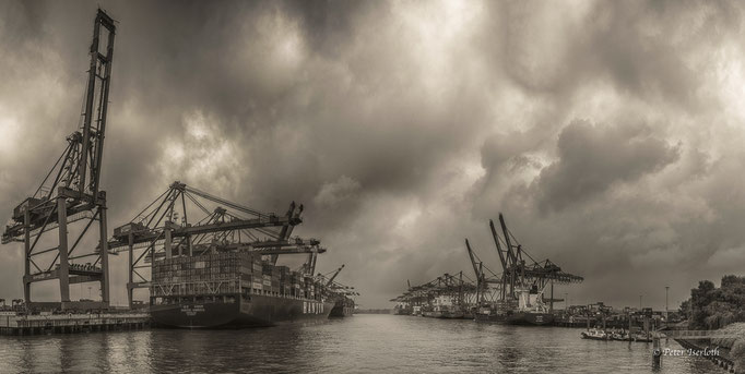 Waltershofer Hafen - Hamburg - Germany