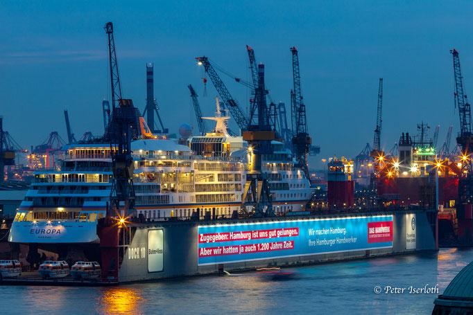 Europa in Hamburg bei Blohm & Voss, Hamburg, Deutschland
