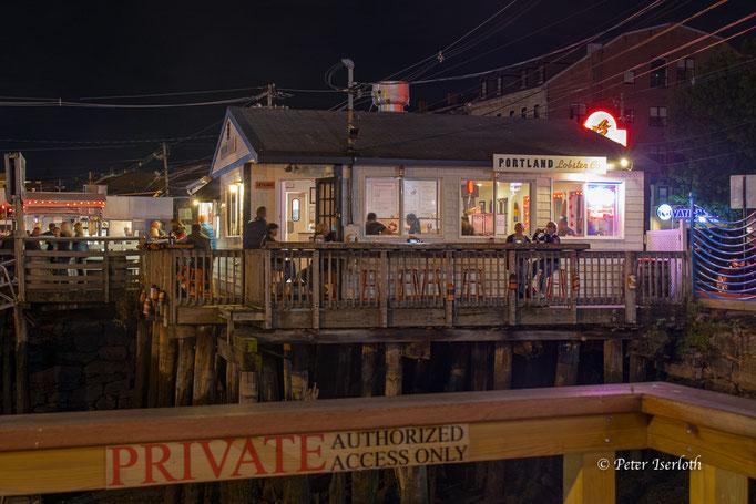 Lobster Restaurant, Portland / Maine, USA