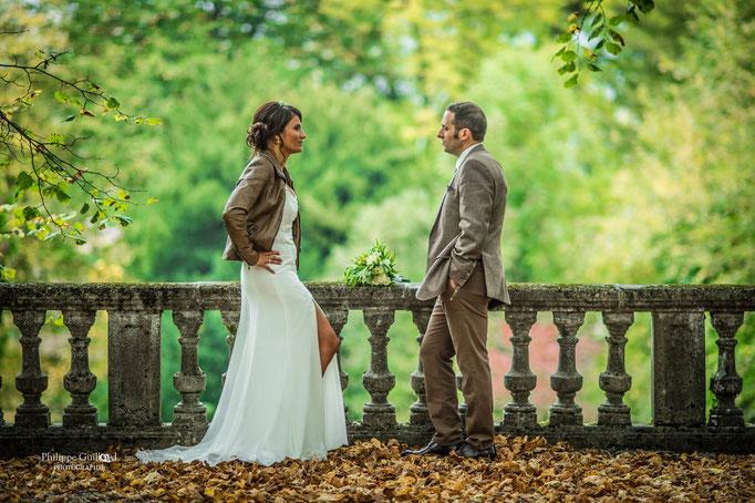 Robe de mariée  Magnifique mousseline et guipures Sylvie Berry couture