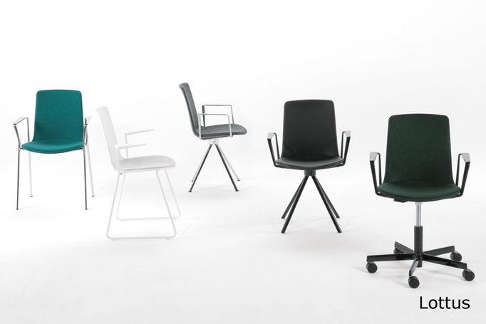 Lottus Spin sillas de recepción