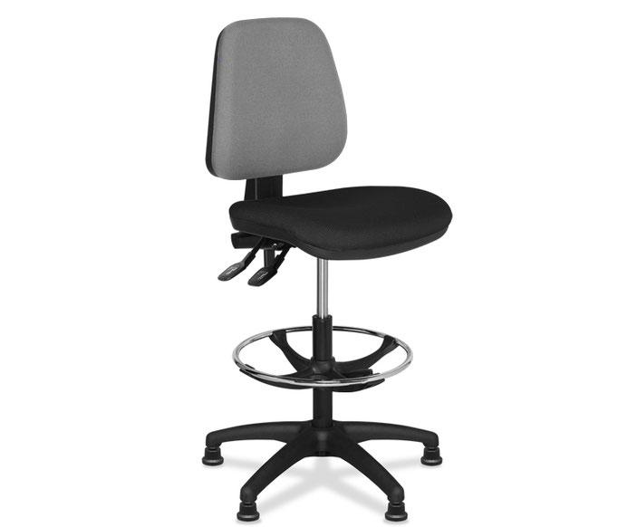 Milán silla de oficina alta de delineación