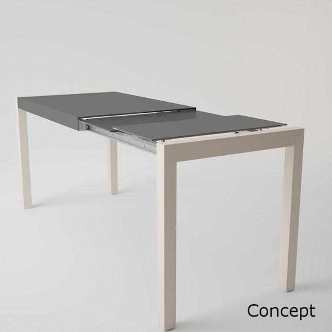 Concept mesa extensible