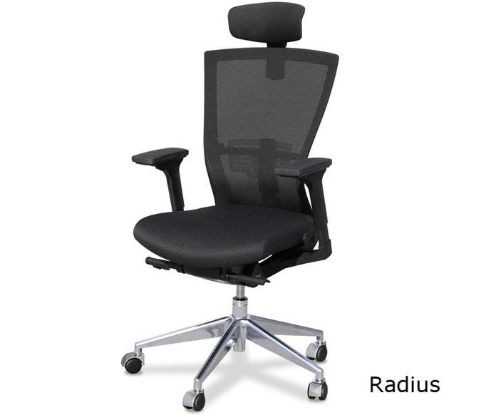 Radius silla de dirección con reposacabezas