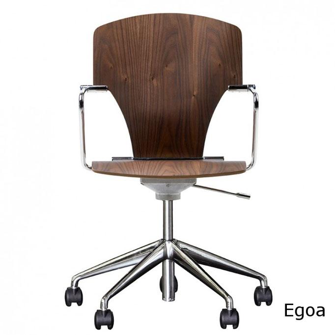 Egoa sillas de recepción oficina en madera