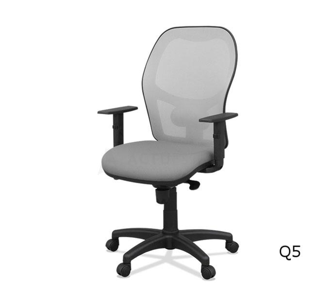 Q5 silla oficina ergonómica malla regulable