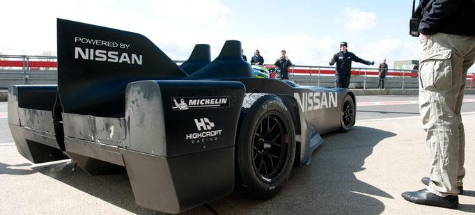 Motorsport Nissan Delta Wing Testlauf in Snetterton