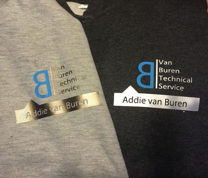 Addie van Buren werk t-shirts