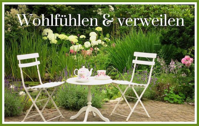 Wohlfühlen & verweilen Helenenweg-Garten