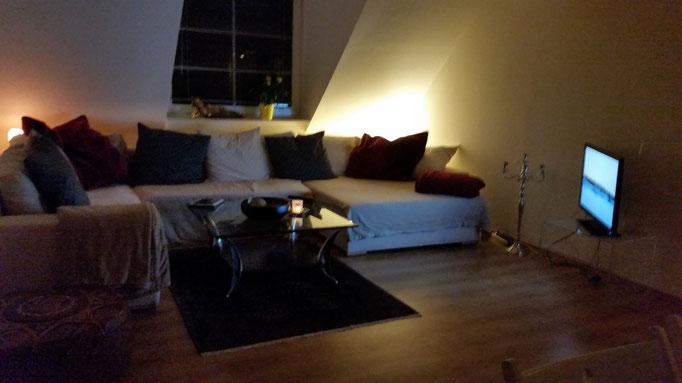 Wohnzimmer, Sofaecke