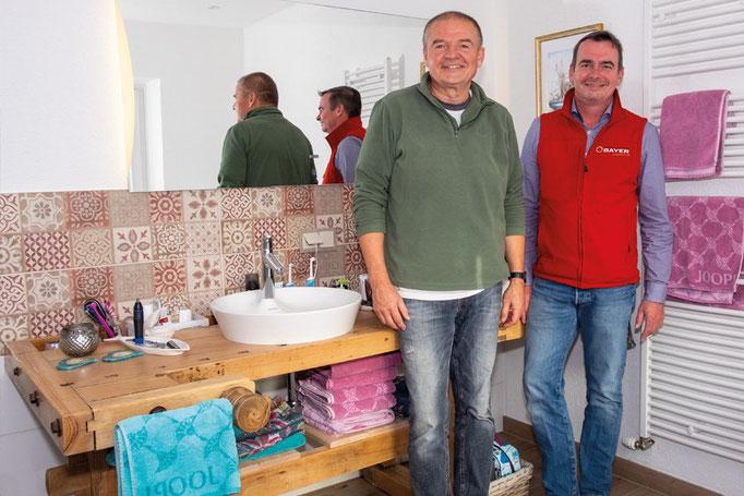 Bad Aufsatzwaschbecken: Badezimmer-Planung Baddesign von Markus Bayer GmbH