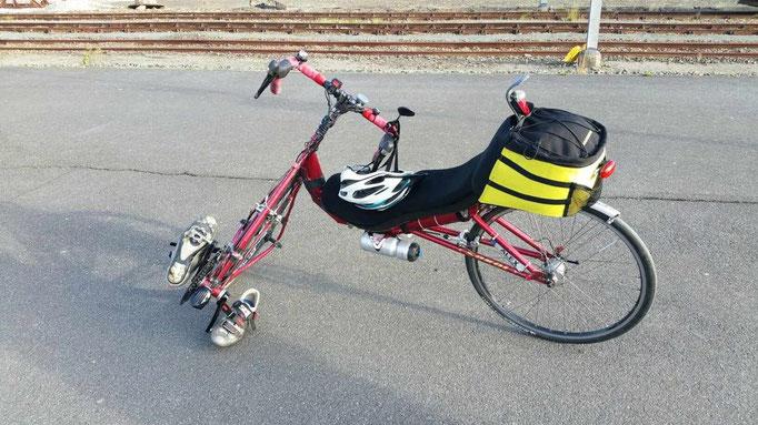 Un vélo sur un quai de gare... TD d'Alex