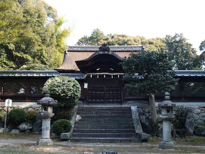 新羅善神堂(北院)