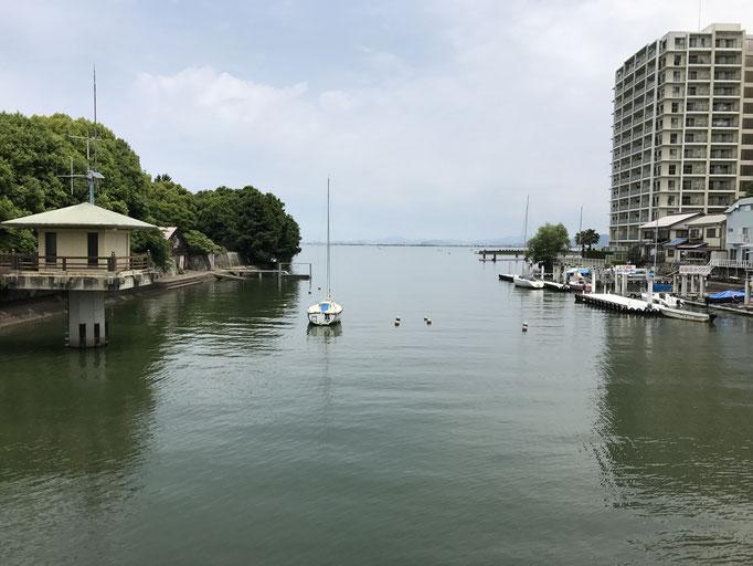 琵琶湖取水口