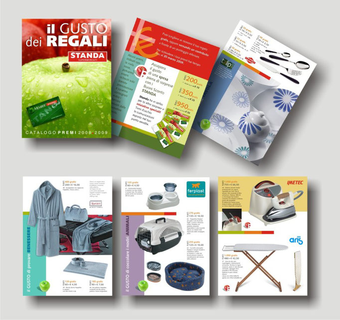 catalogo Standa 2008/2009 - collection Standa Sicilia - alcune pagine interne