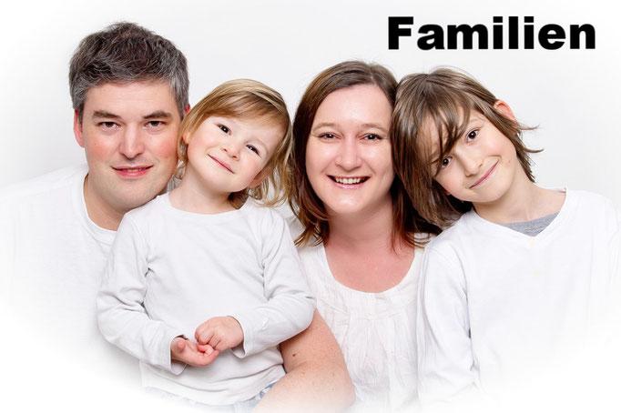 Familien im Studio