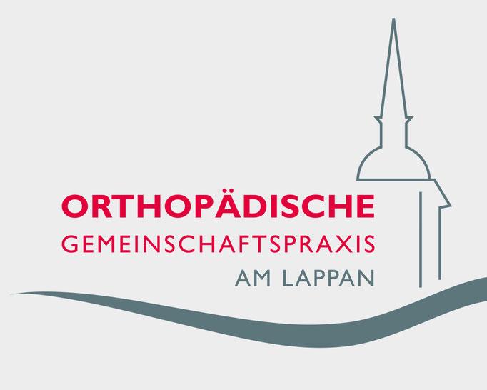 Orthopädische Gemeinschaftspraxis am Lappen, Corporate Design