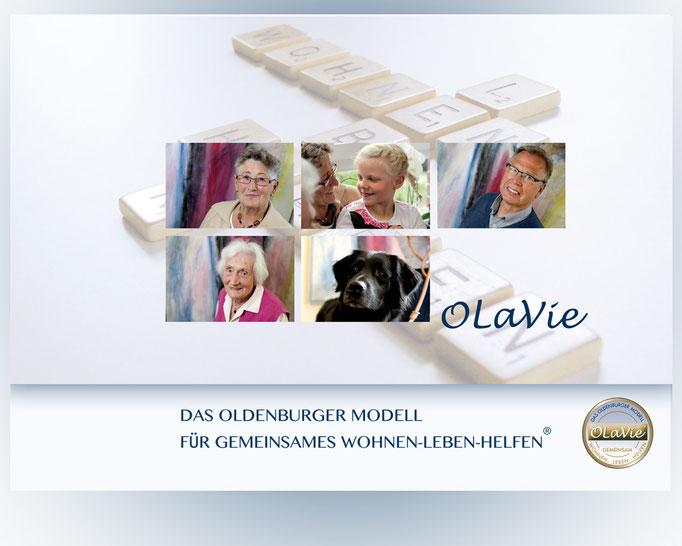 Image Broschüre Olavie. Gemeinsames wohnen, leben und helfen.