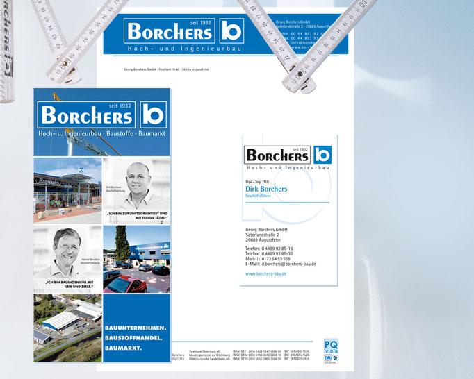 Borchers Corporate Design, Geschäftsausstattung.