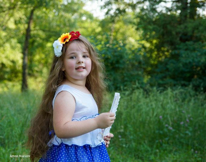 Семейная фотография в Харькове на природе