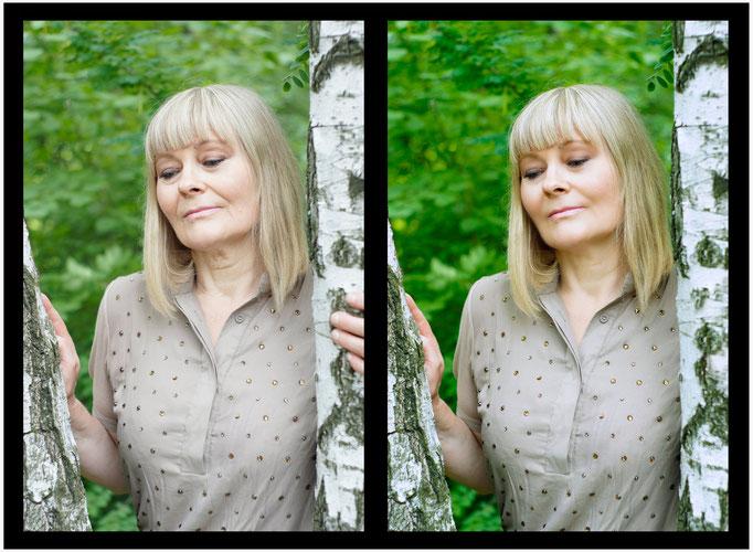 ретушь и стилизация портретов