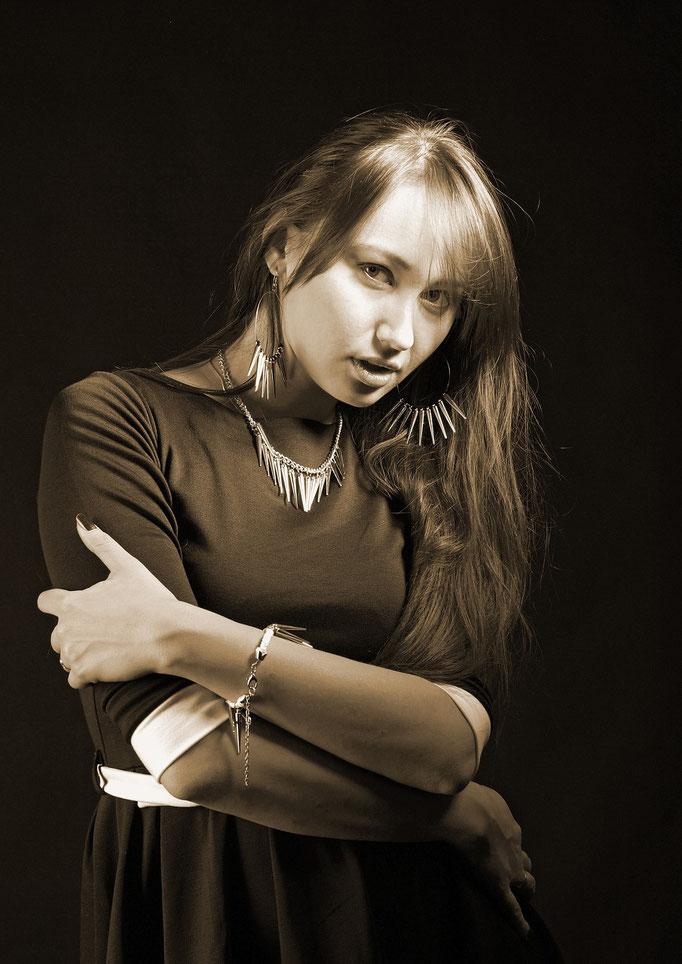 студийные фотосессии в Харькове - женский портрет