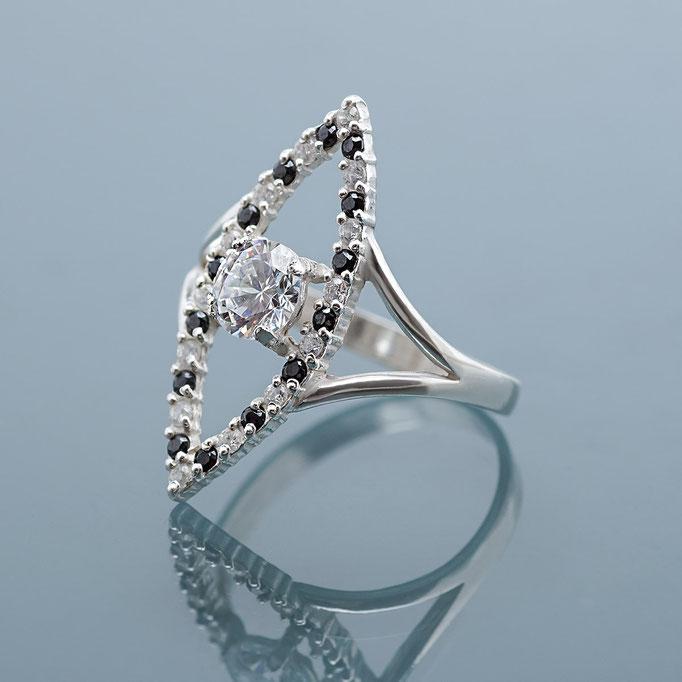 ювелирные украшения из серебра - кольца