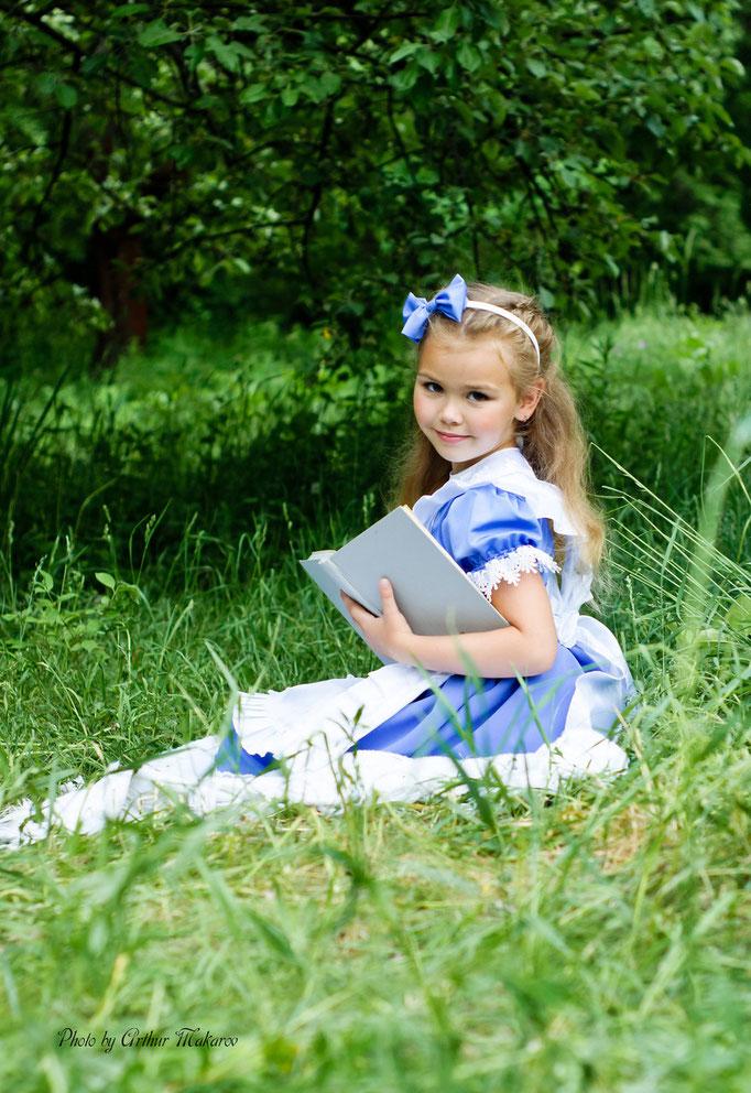Детская фотосессия в Харькове на пленэре