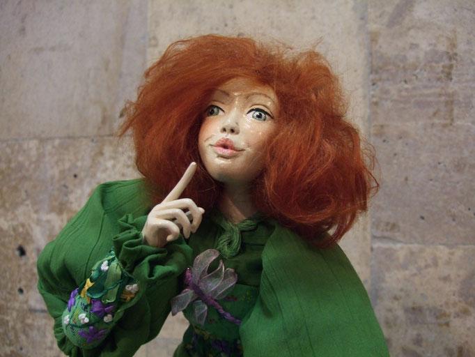 репортаж с выставки авторской куклы в Харькове