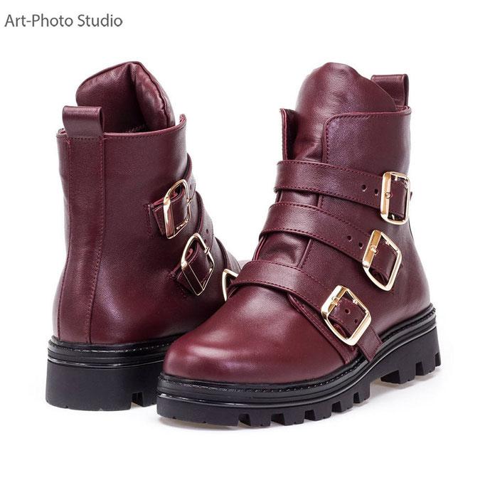 фотосъемка пары обуви для сайта