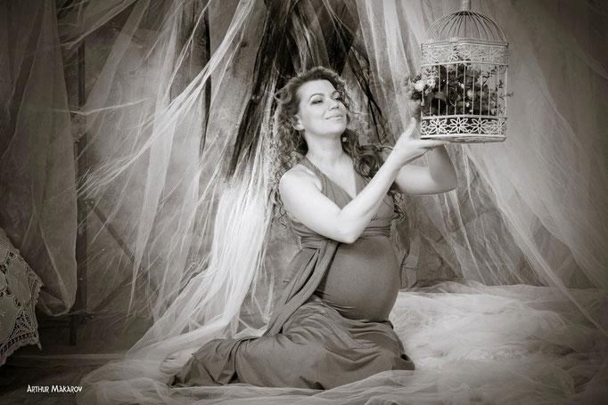 фотосессия для беременных - фотостудия в Харькове