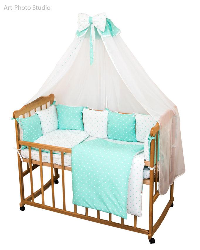 предметная фотография постельного белья для детской кровати в Харькове