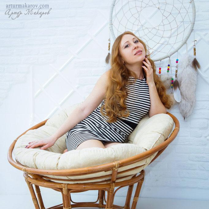 фотосессия в интерьерной студии в Харькове