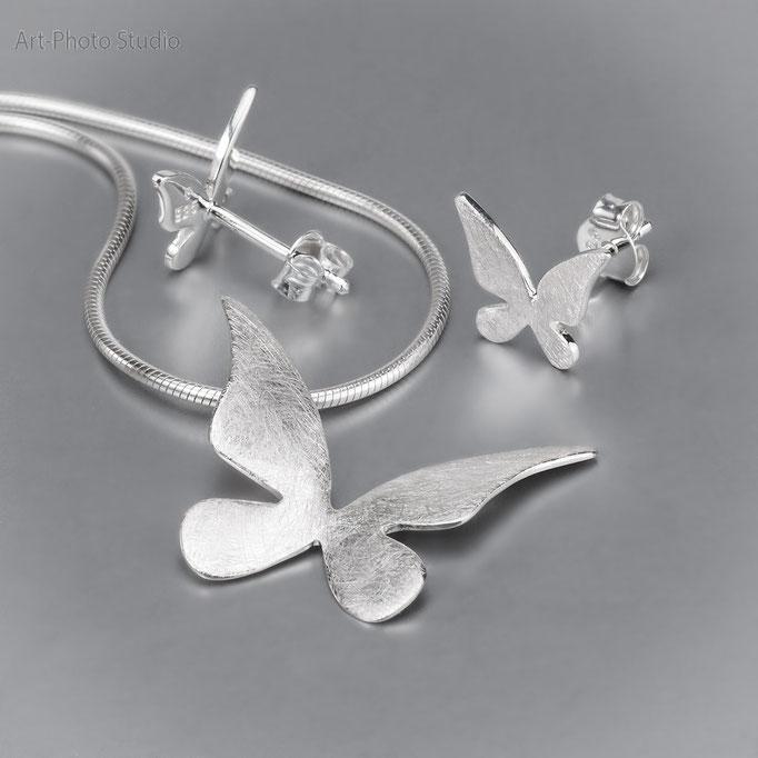 набор ювелирных украшений из серебра - купить в Харькове