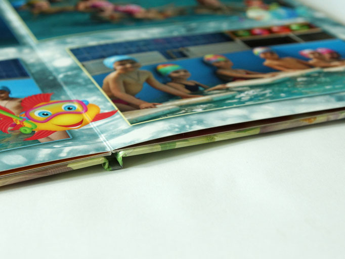 выпускной фотоальбом - вид переплета фотокниги