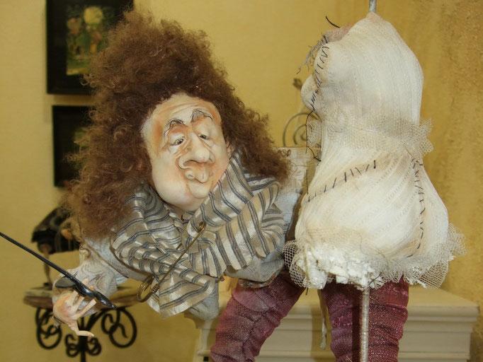 репортажная фотосъемка -выставка авторской куклы