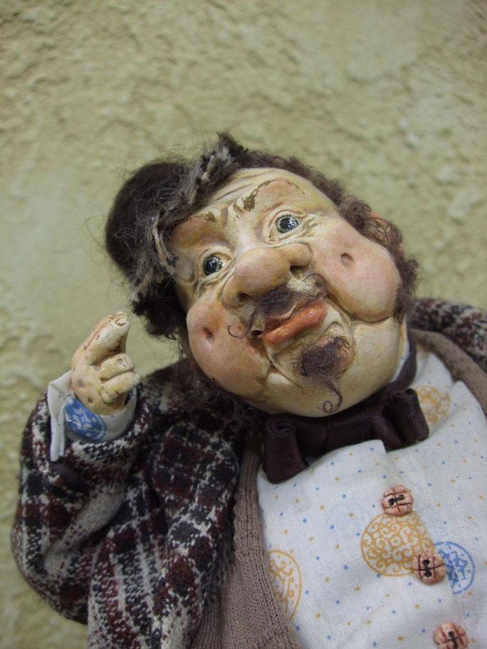 репортажная съемка -выставка авторской куклы в Харькове