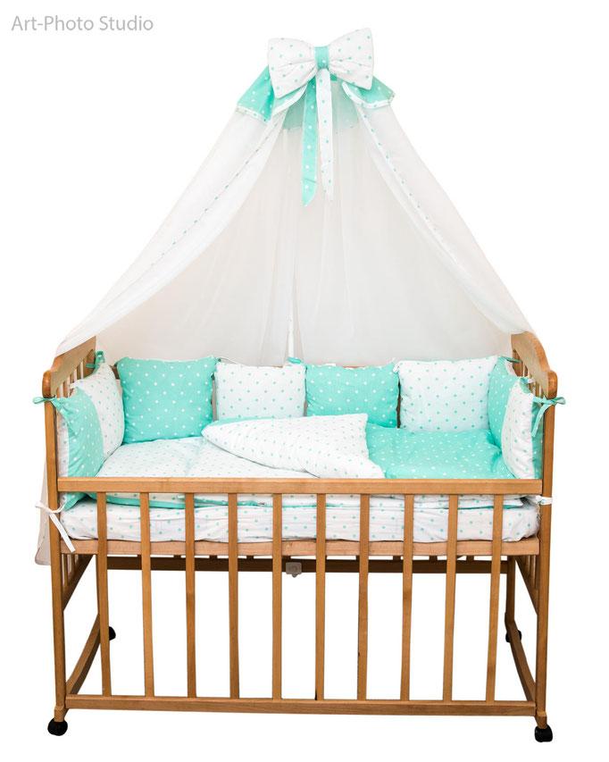 каталожная съемка постельного белья для детской кровати