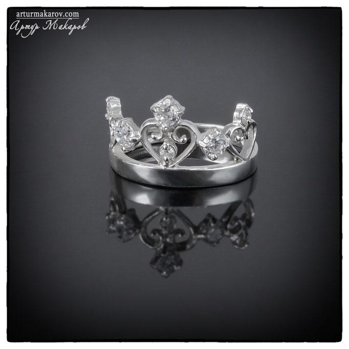 съемка для каталога ювелирных украшений из серебра в Харькове - кольца