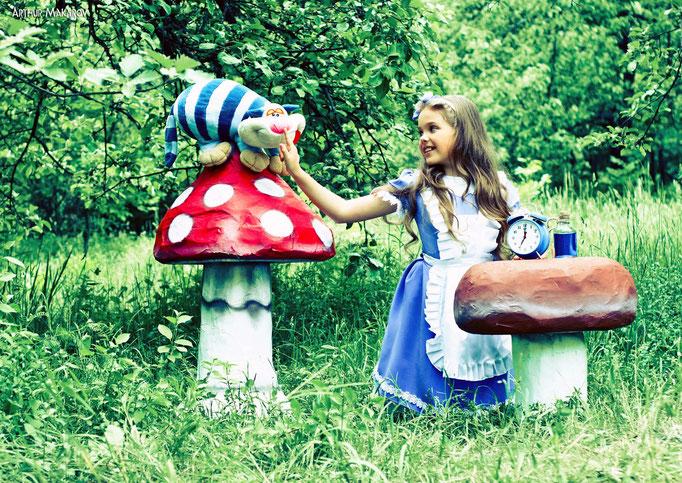 Детская фотосессия в Харькове на природе