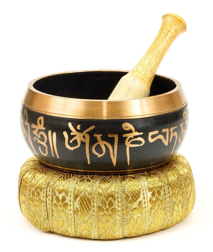 фотография поющей тибетской чаши