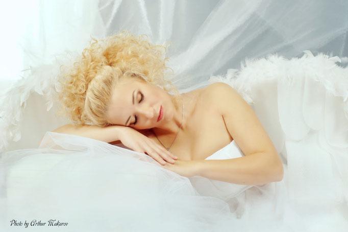 фотопортрет спящей красавицы
