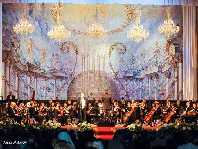репортажная фотосъемка - открытие театра оперы и балета в Одессе - праздничный концерт