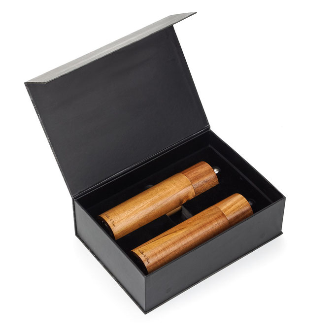 коробка с мельницами для измельчения специй - фото для Амазон