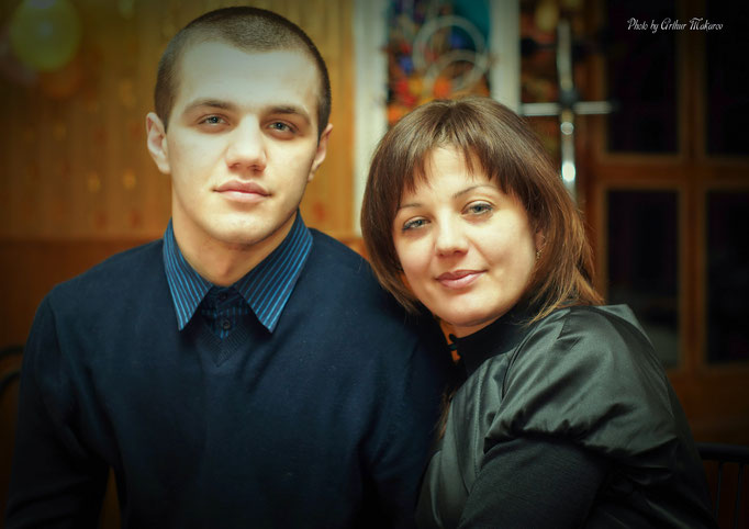семейная фотосъемка в студии Харькова