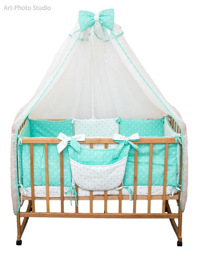 предметная съемка детской кровати