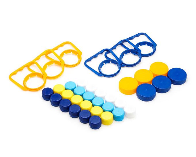 предметная фотосъемка ПЭТ упаковки и изделий из пластика